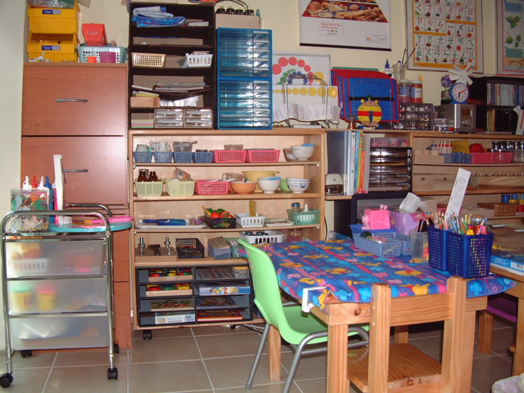 Montessori Homeschool Enviornment
