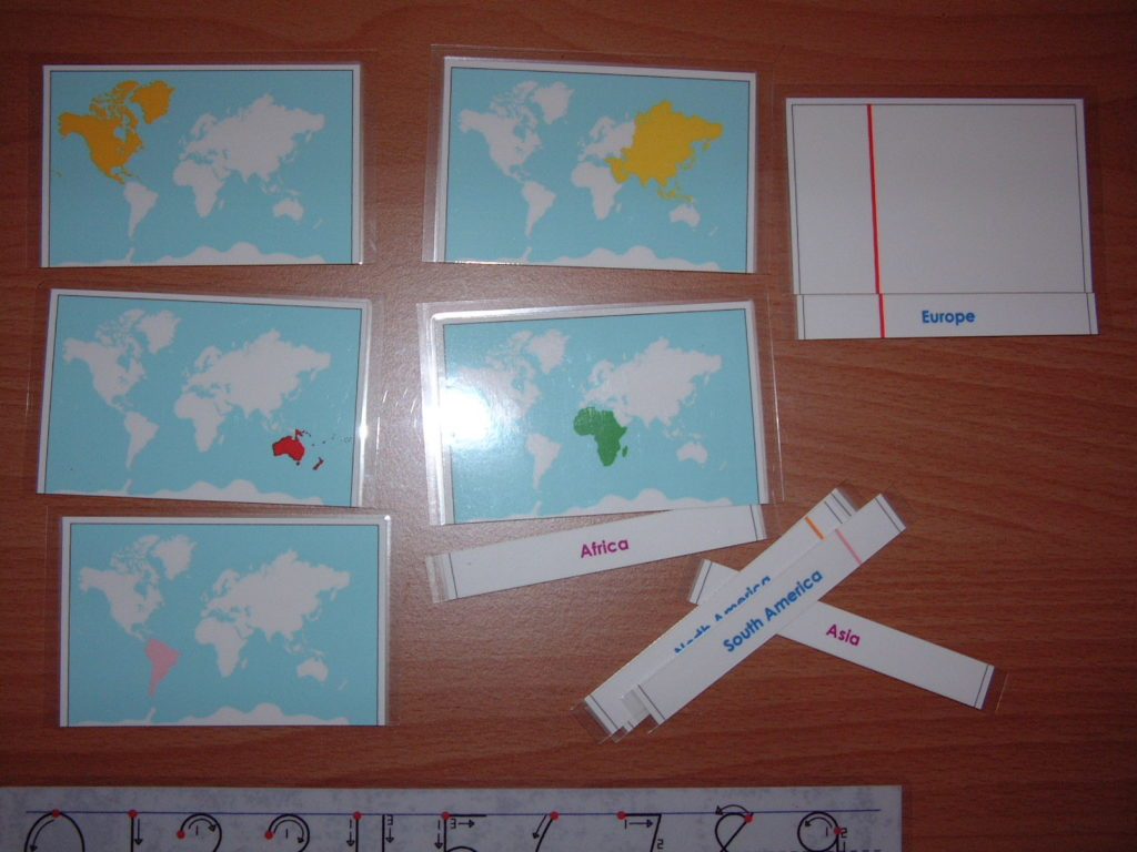G5 Continent cards