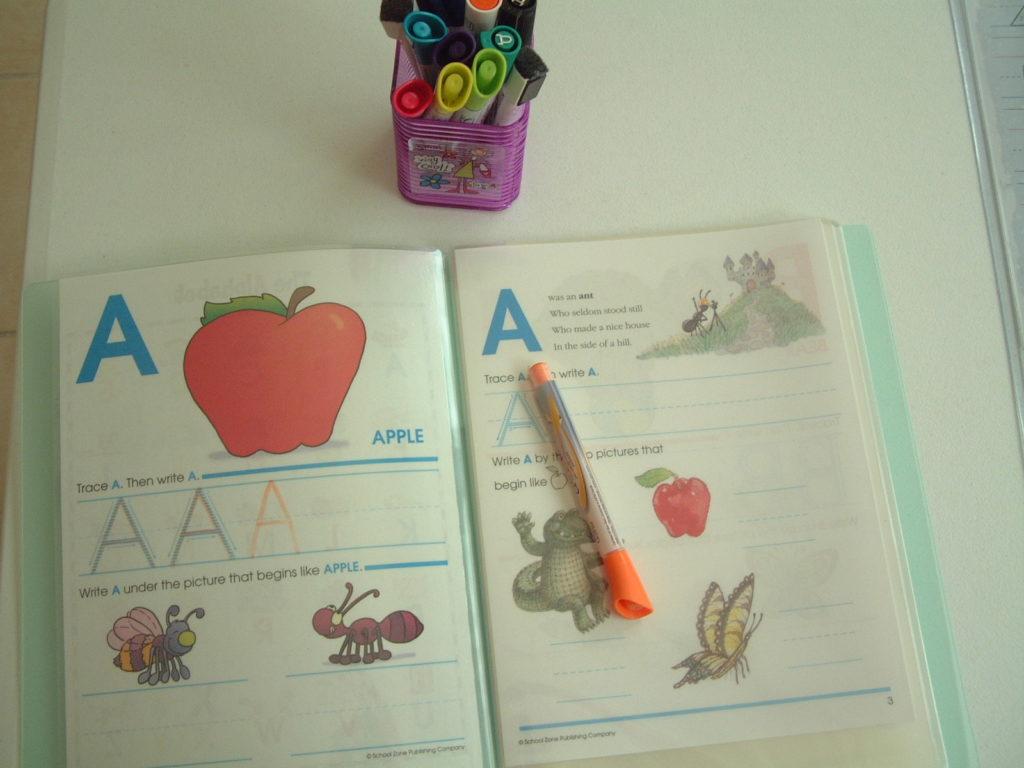 L5 Practice alphabet writing
