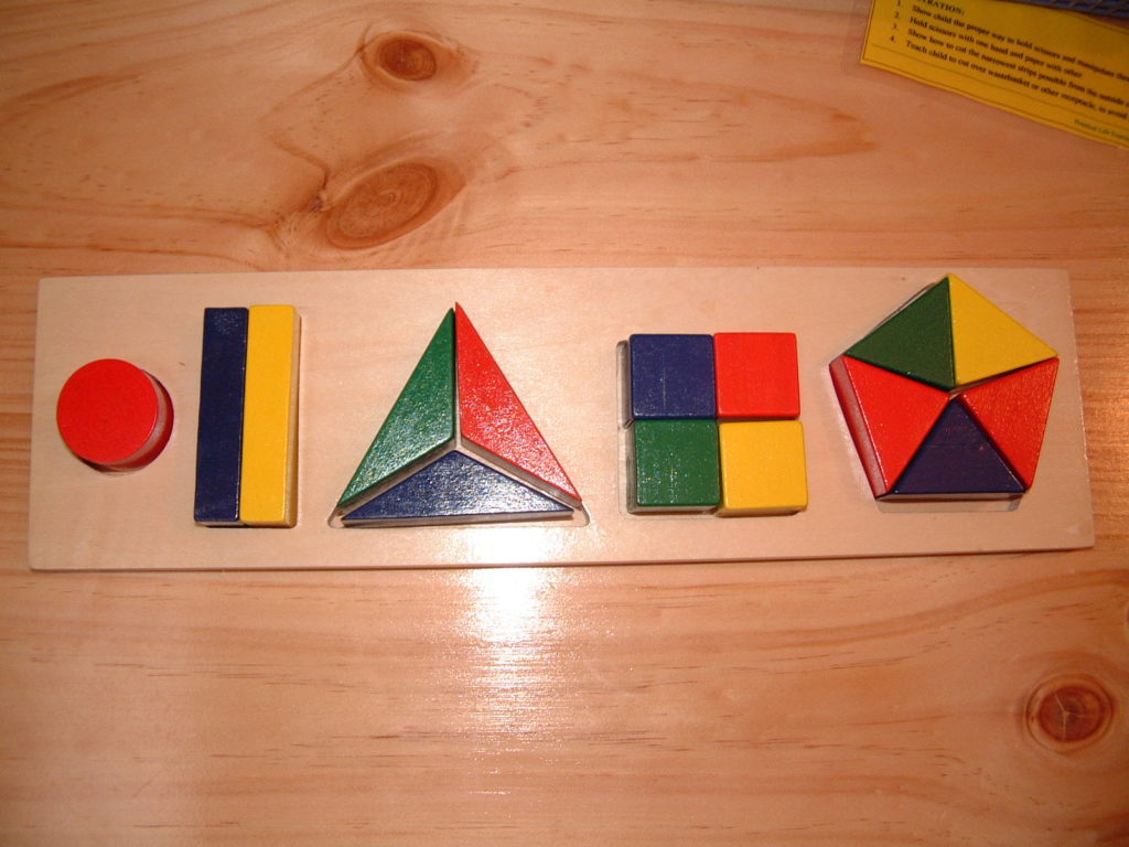 M1 Puzzle (Counting & Shapes)