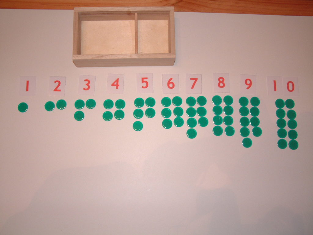 M14 Number Cards & Counters