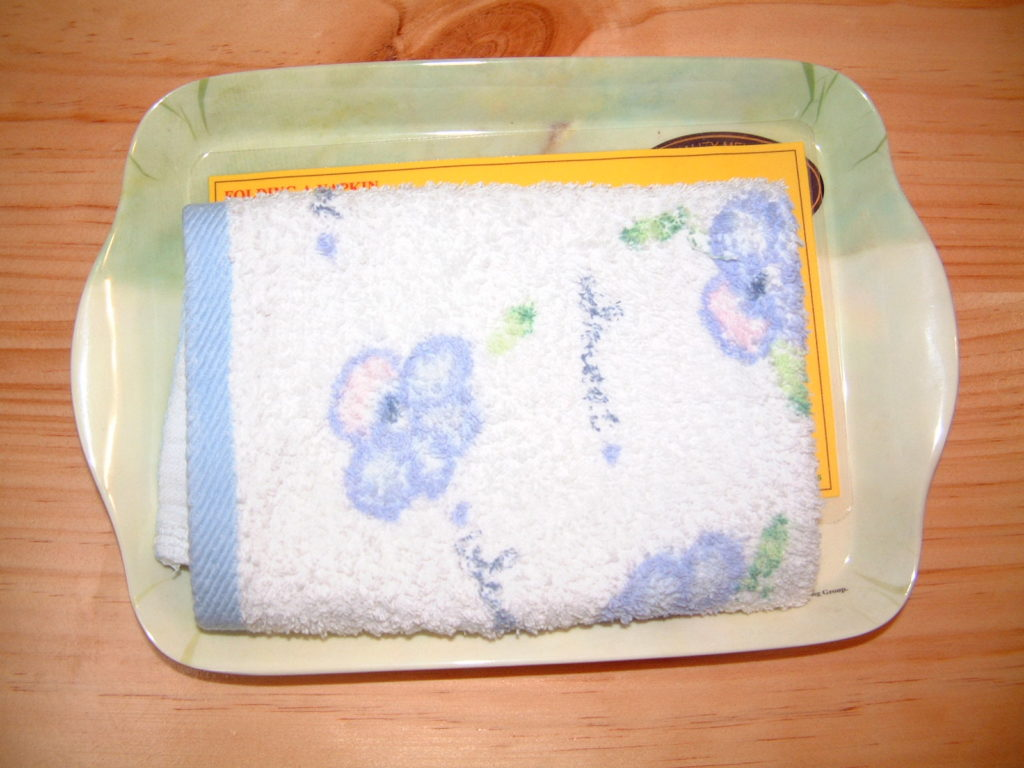 P18 Folding a towel & napkin