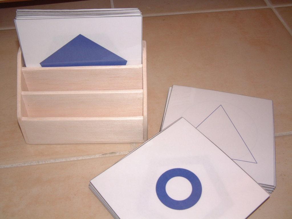 S25 Geometric form cards