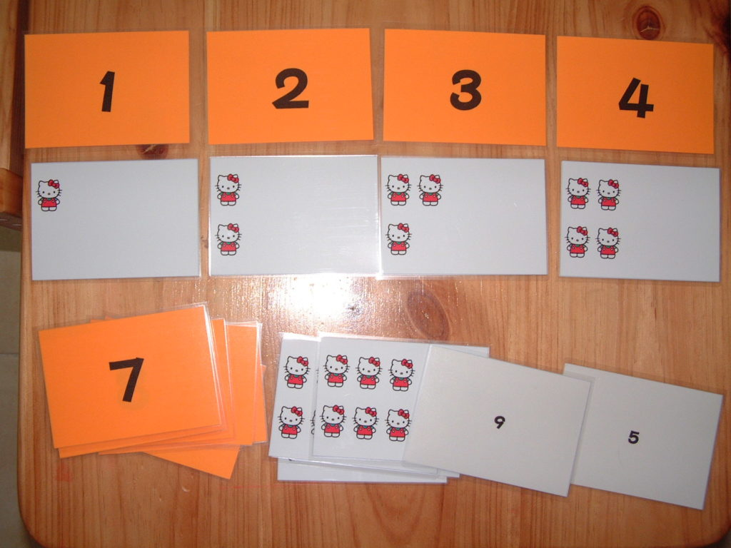 M21 Number cards and counting