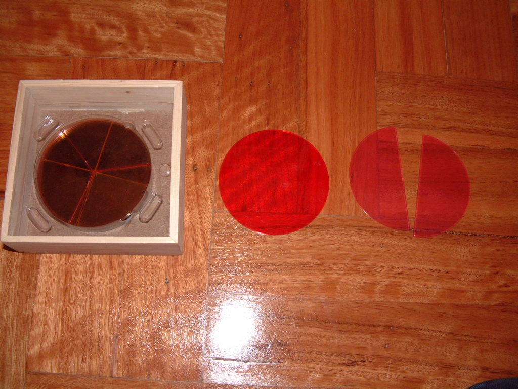 M33 Fractions (circles)