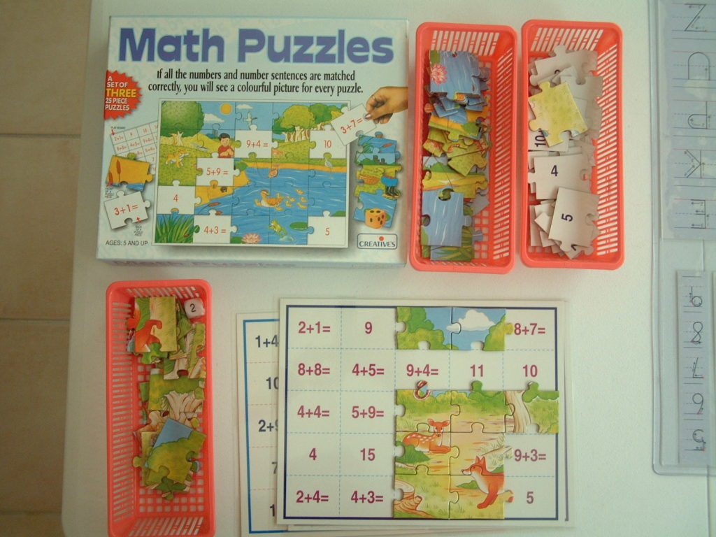 M35 Math puzzles