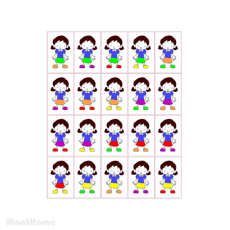 MH-GM4 Color Dolls