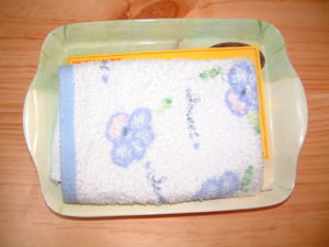 P18 Folding a towel & napkin