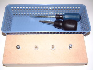 P56 Screws board